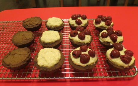 Black forest tarts, part 2