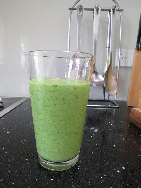 A truly green green smoothie