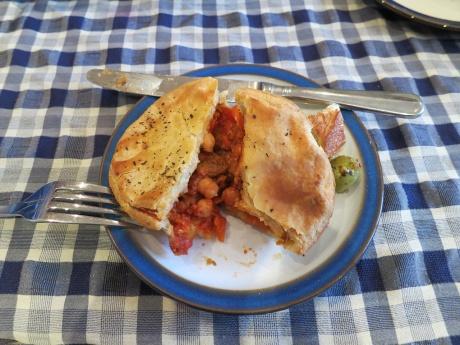 Pie from Fruits de la Terre (UK)