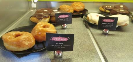 Glam Doll vegan doughnuts