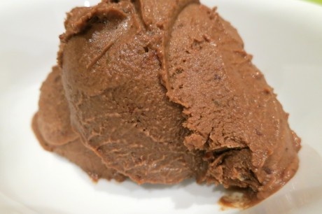 5 ingredient, 5 minute chocolate gelato