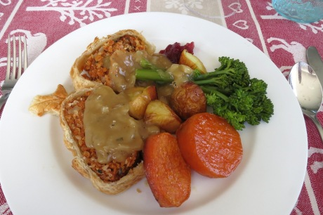 Vegan Christmas Nut Roast