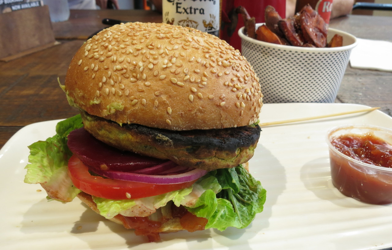 Grill\'d Garden Goodness burger | What Catherine ate next