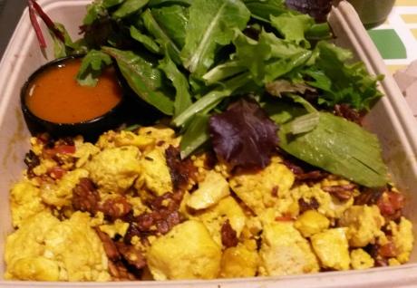 Real Food Daily tofu scramble