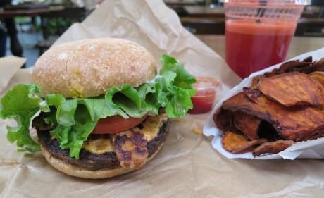 Evolution burger
