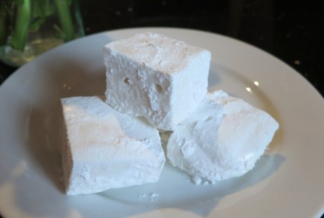 Homemade vegan marshmallows